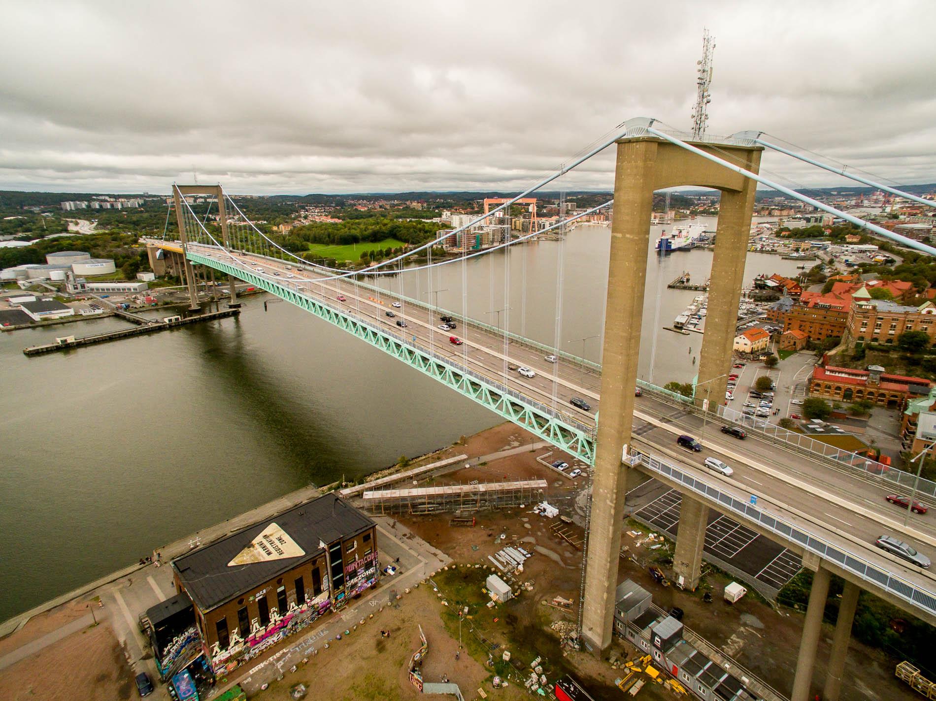 Bron från luften